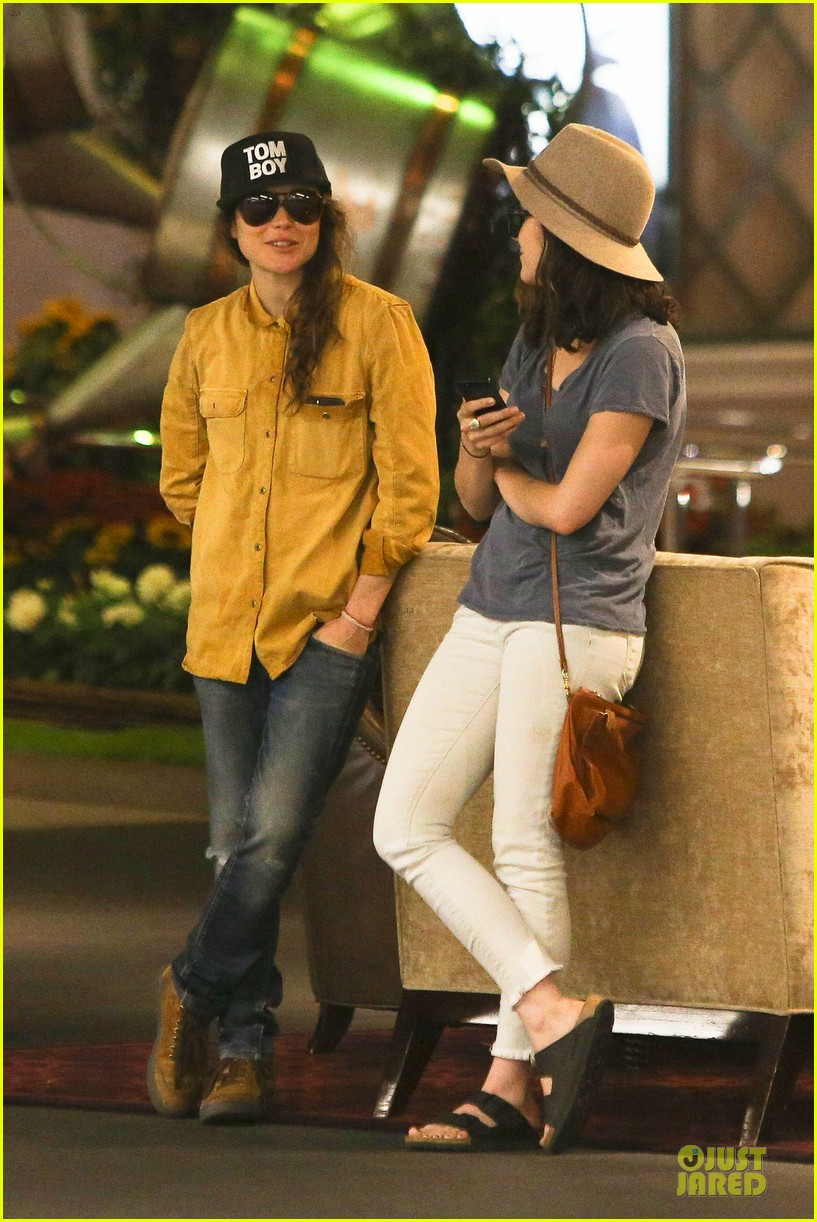ellen page sunday shopping with close gal pal 133131973