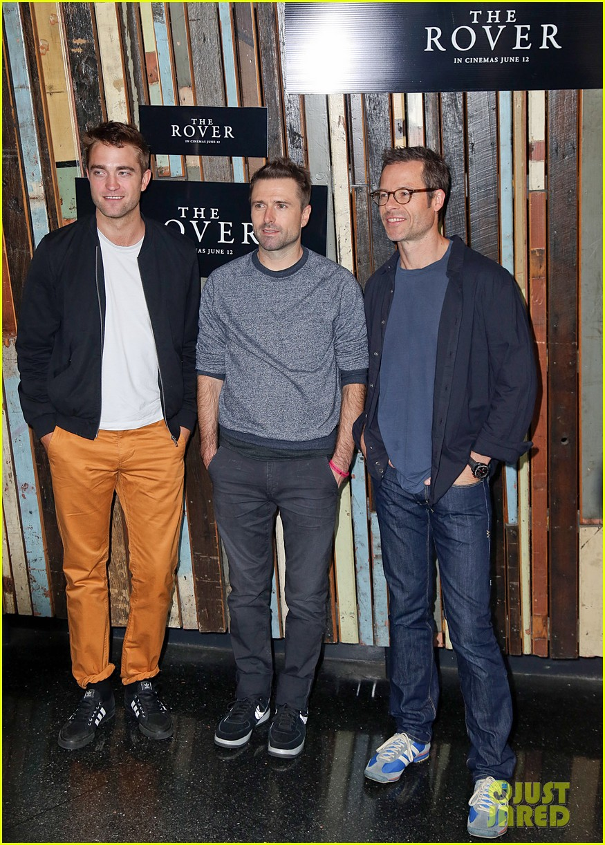robert pattinson the rover sydney photo call 03