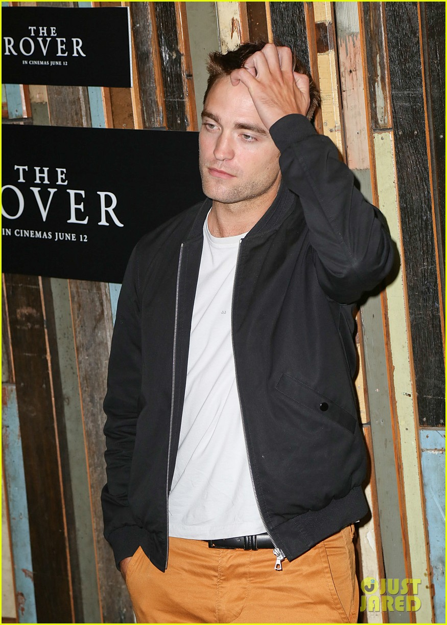 robert pattinson the rover sydney photo call 24