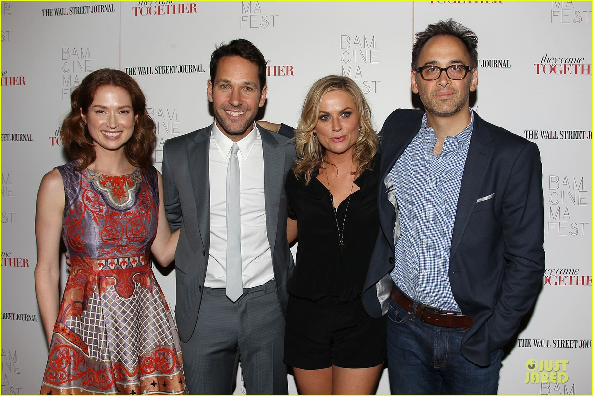 amy poehler paul rudd they came together in nyc 36