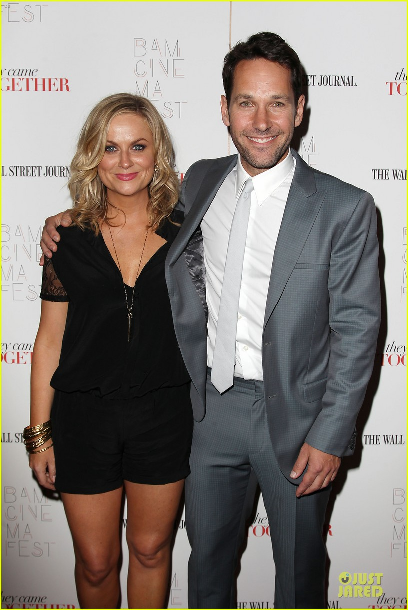 amy poehler paul rudd they came together in nyc 373142118