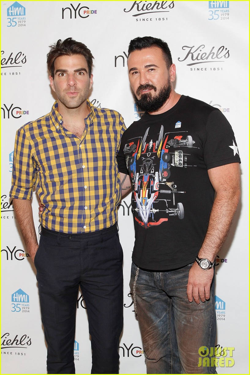 zachary quinto kicks off new york city pride week with kiehls 013144687