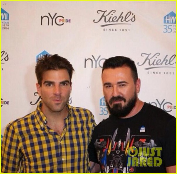 zachary quinto kicks off new york city pride week with kiehls 03