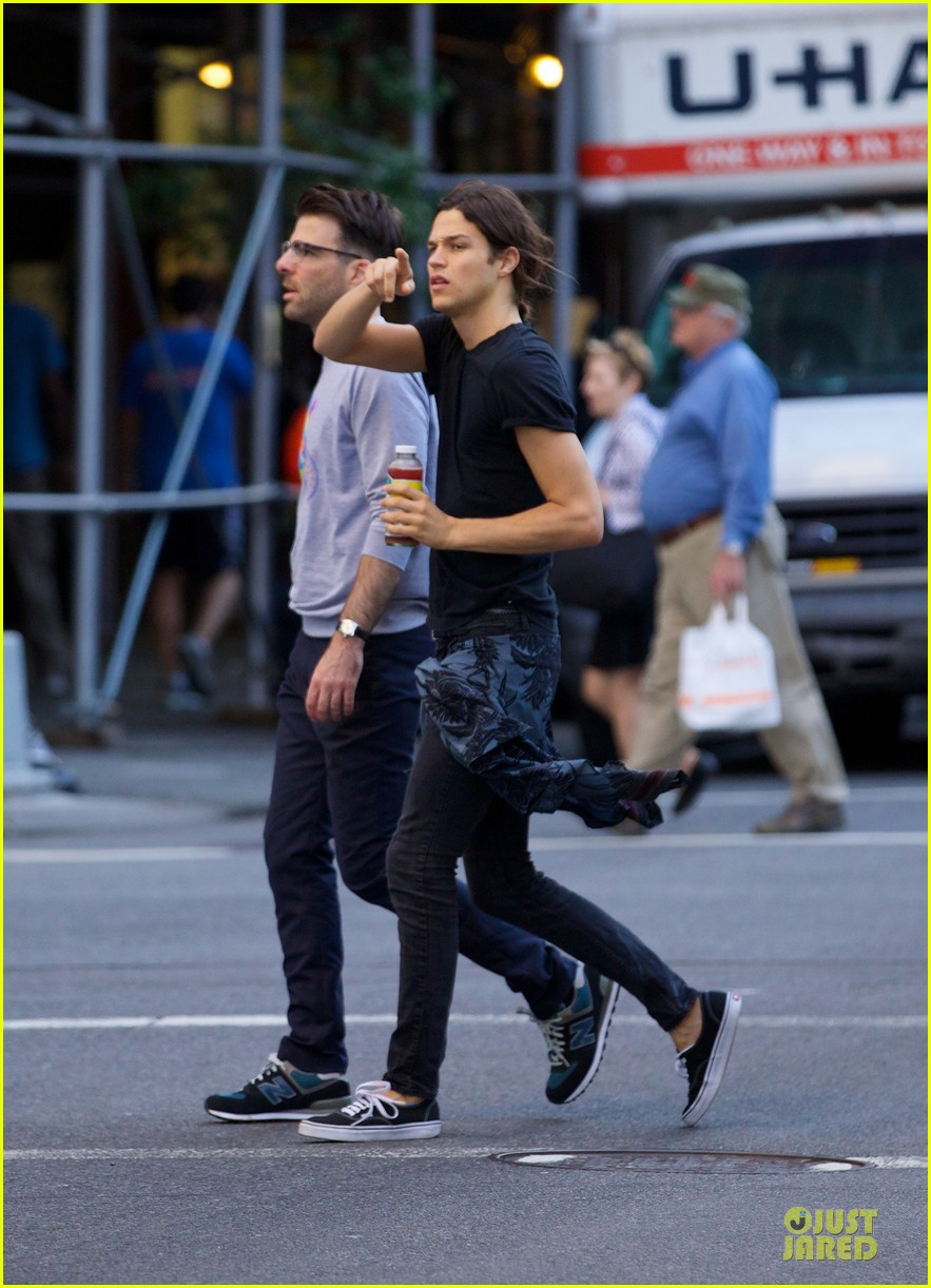 zachary quinto miles mcmillan going strong in nyc 093130191