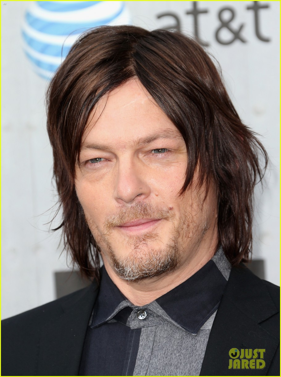 norman reedus lauren cohan guys choice awards 2014 113130831