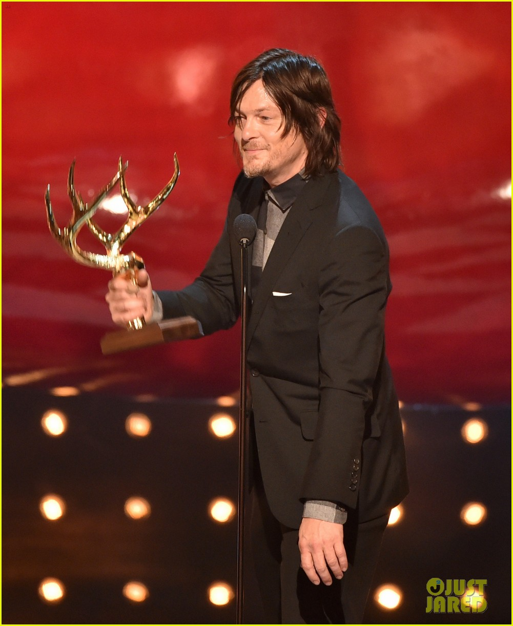 norman reedus lauren cohan guys choice awards 2014 13