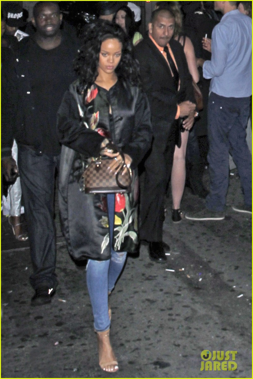 rihanna parties at playhouse 09