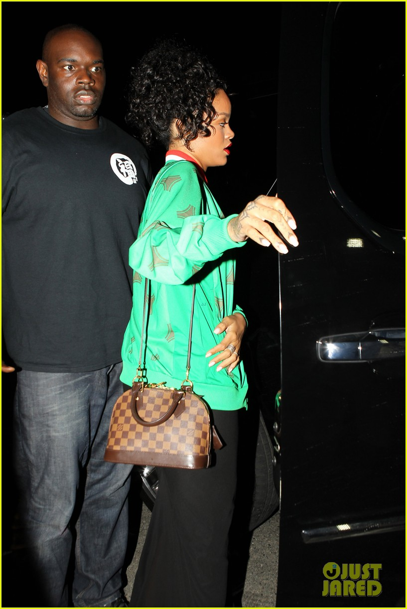 rihanna dinner after skipping the bet awards 24