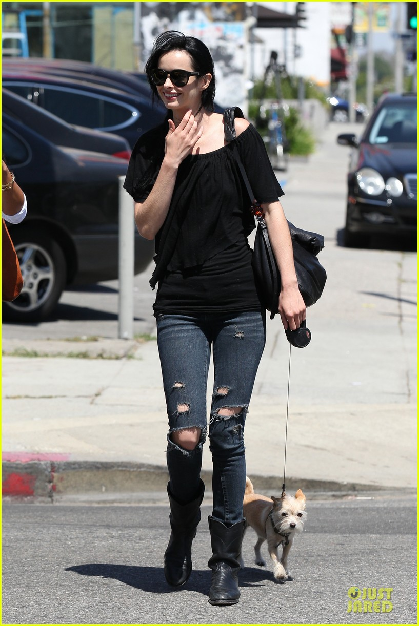 krysten ritter lovely buddy in her life 033127853
