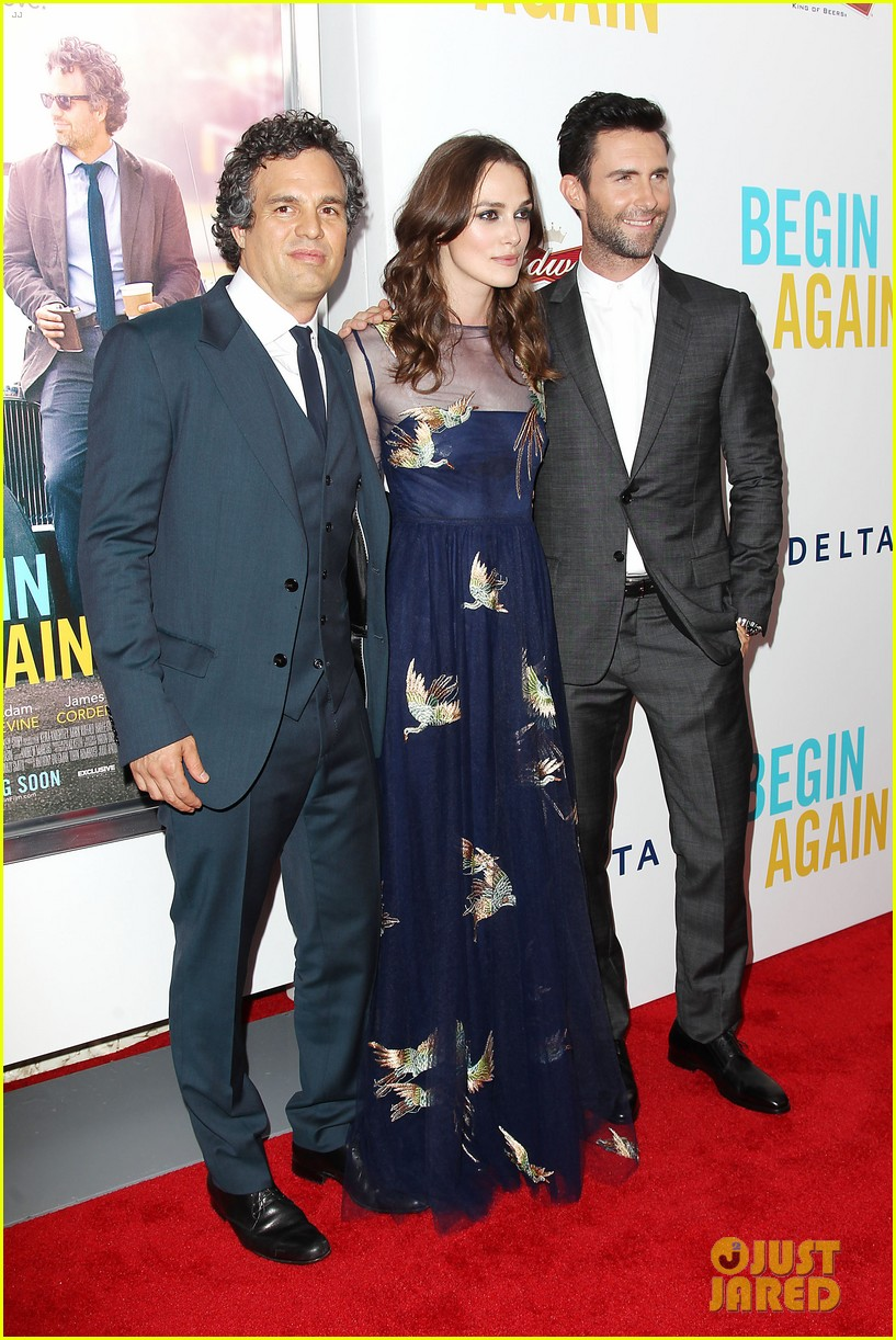 mark ruffalo brie larson begin again premiere 05