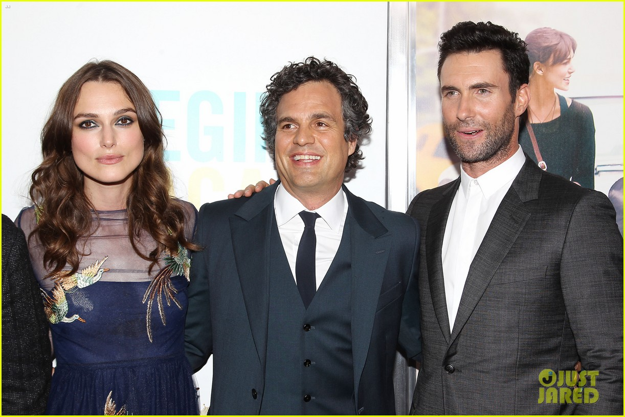 mark ruffalo brie larson begin again premiere 12
