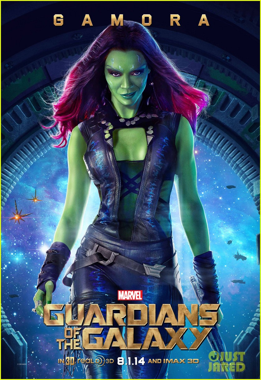 chris pratt zoe saldana guardians of the galaxy character posters 02