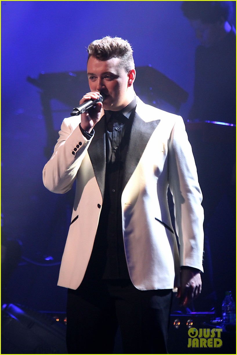 sam smith excited heart broken properly first time 09