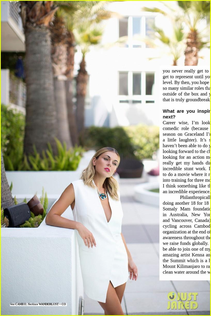 graceland serinda swan amazing abs cliche magazine 073146141