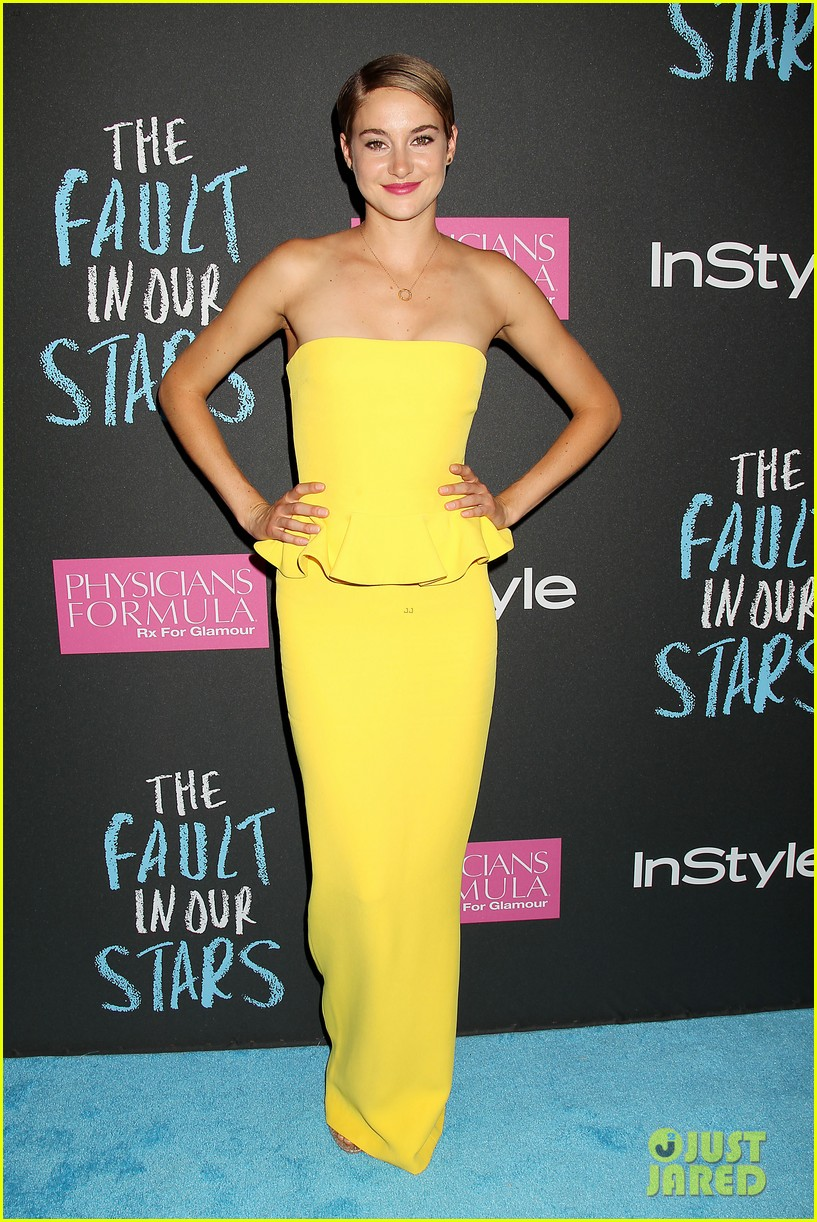 shailene woodley fault in our stars nyc premiere 113126857