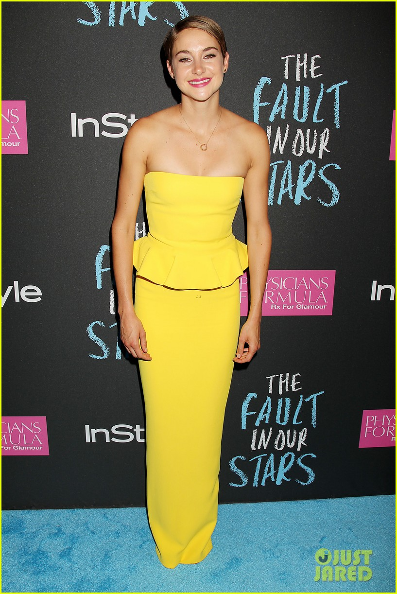 shailene woodley fault in our stars nyc premiere 34