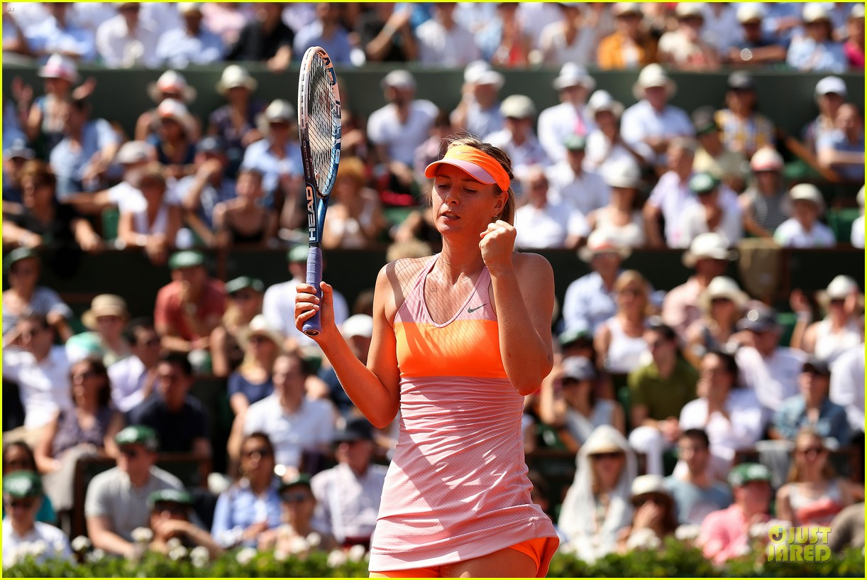maria sharapova wins second french open 093130416