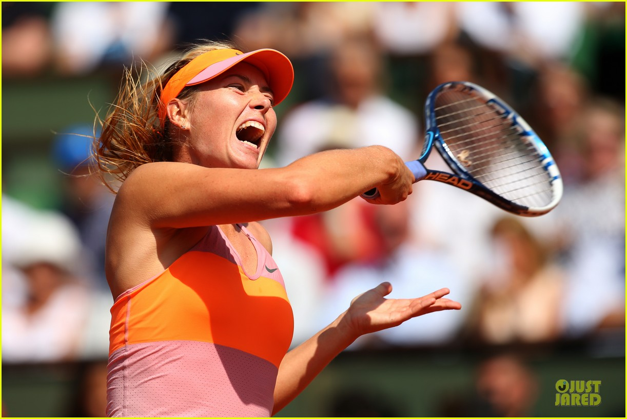 maria sharapova wins second french open 10
