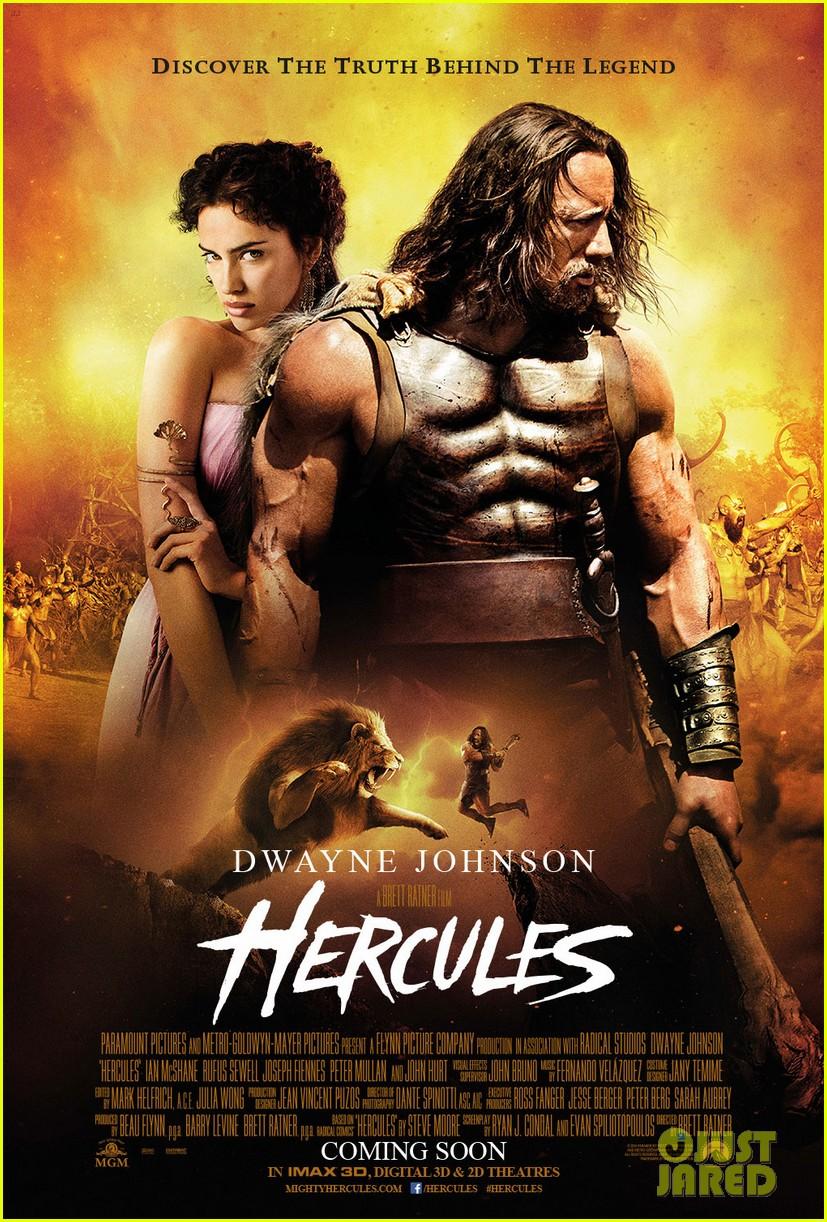 irina shayk hercules movie poster 033137139
