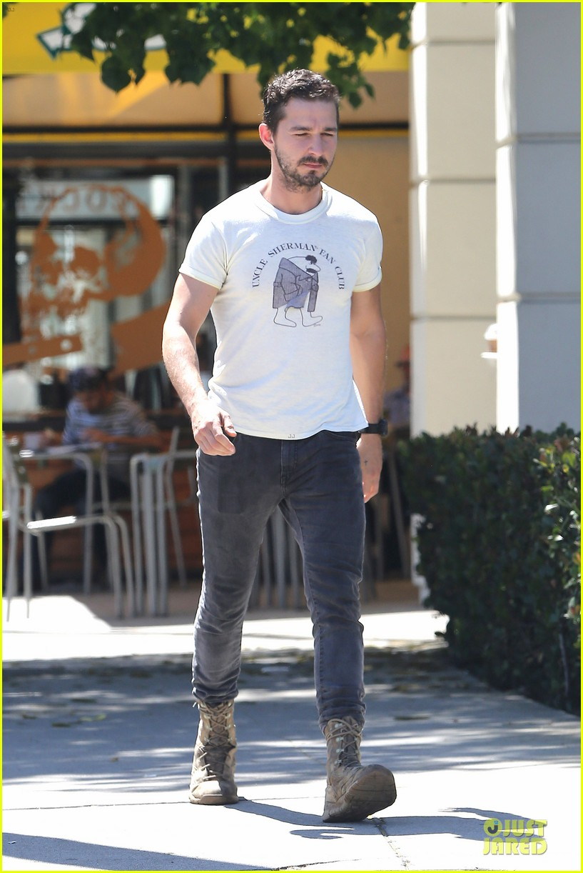 shia labeouf makes us notice flashing uncle sherman 073136842
