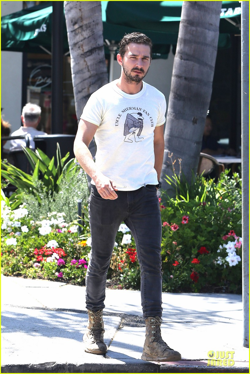 shia labeouf makes us notice flashing uncle sherman 08