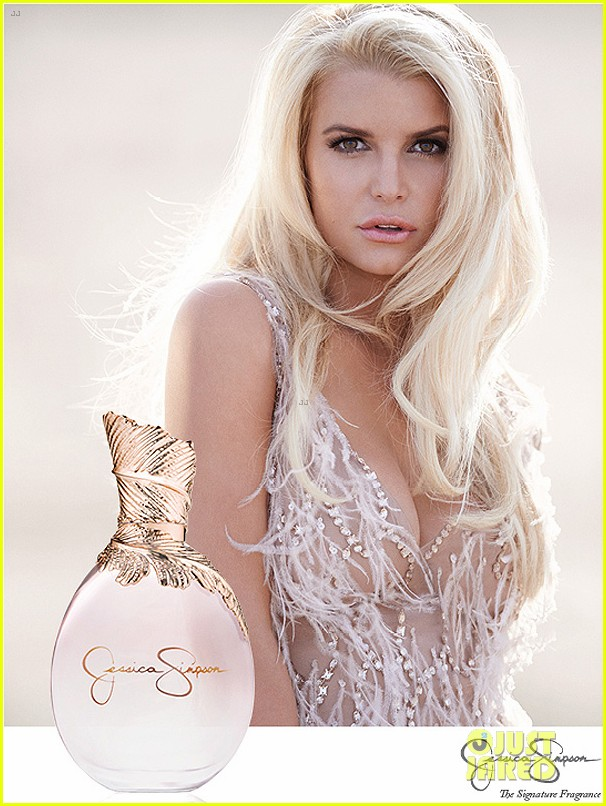 jessica simpson sensual revealing in new fragrance ad 01