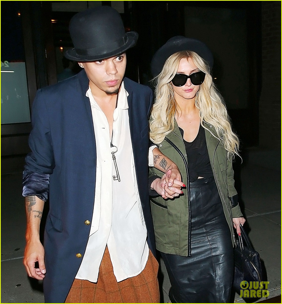 ashlee simpson evan ross say goodbye to new york city 04