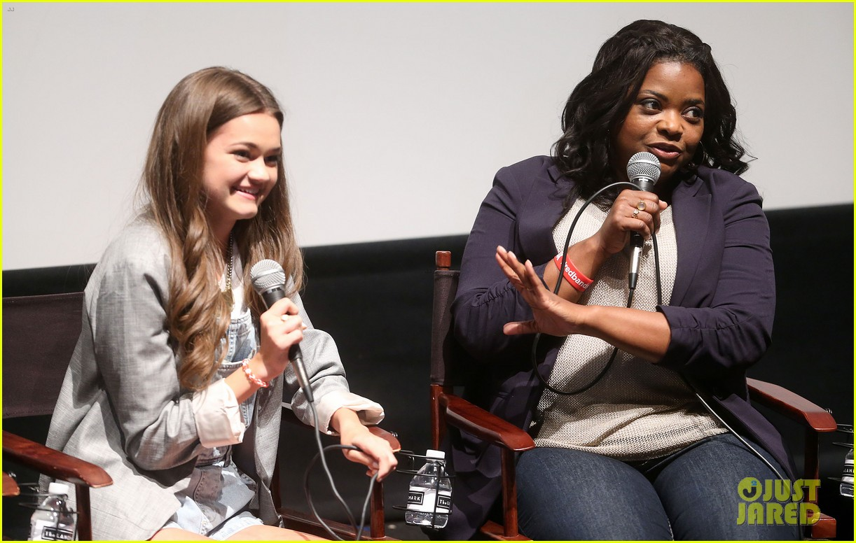 octavia spencer joins red band society cast at special l a screening 18