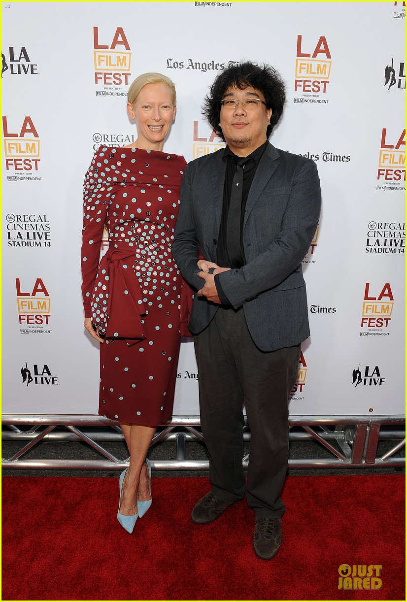 tilda swinton alison pill hot for snowpiercer laff premiere 103133688