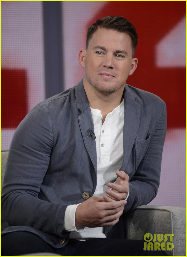 channing tatum good morning america appearance 073128873