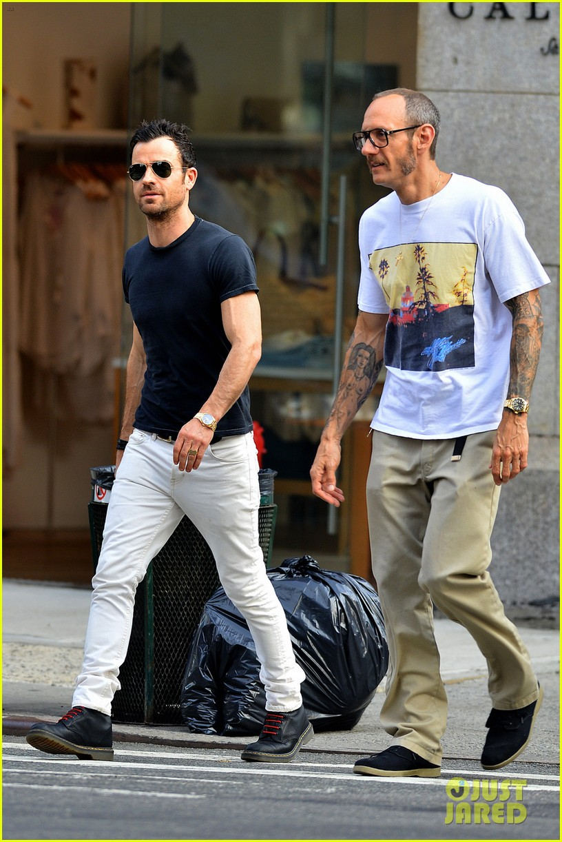 justin theroux hangs out with terry richardson 01