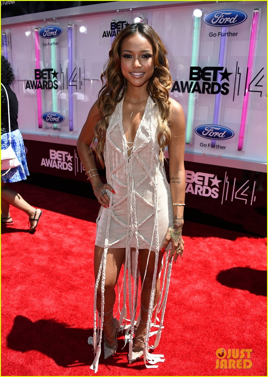 karrueche tran bet awards 2014 143146280