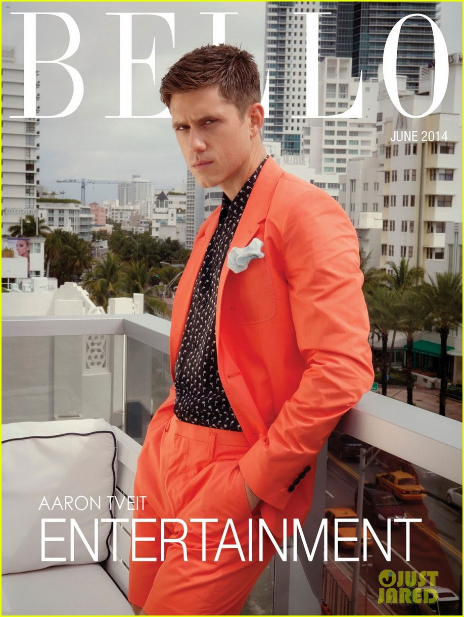 aaron tveit bello magazine 073126710