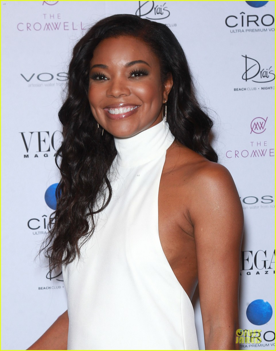 gabrielle union sexy back at vegas cover party 02