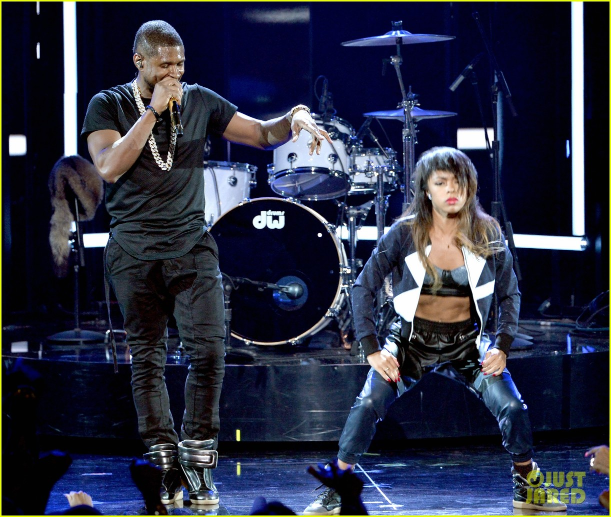 usher bet awards 2014 15