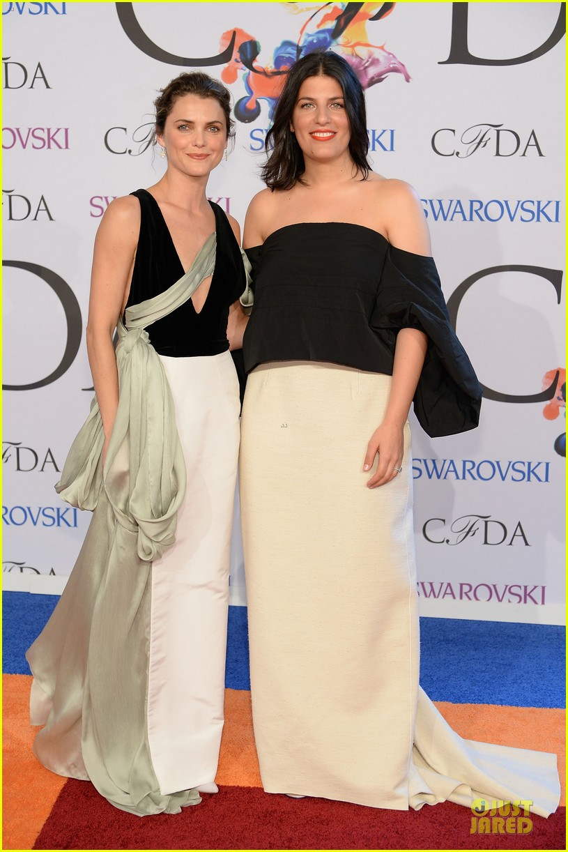 olivia wilde keri russell black at cfda awards 2014 05