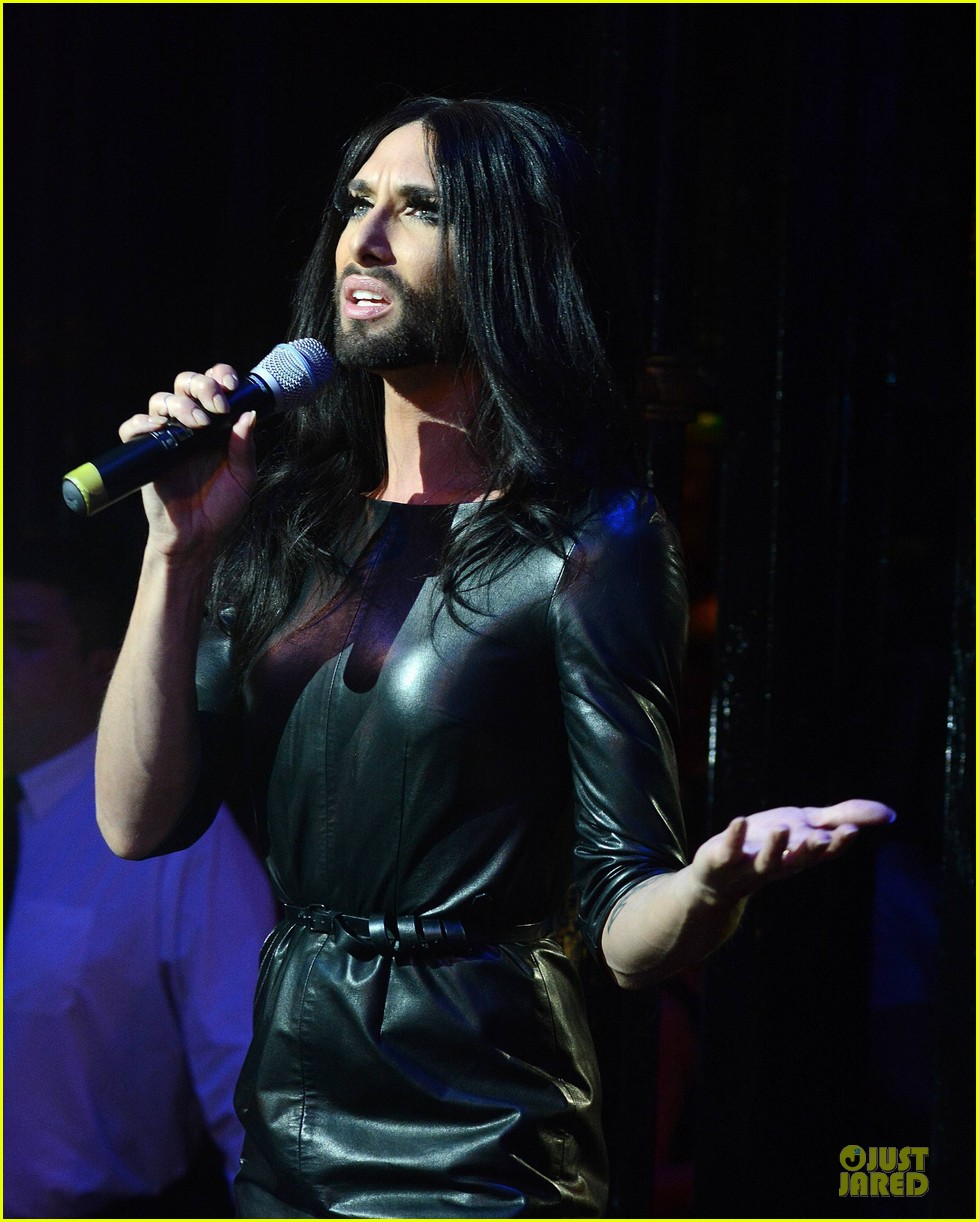 conchita wurst makes statement on love respect tolerance 123145278