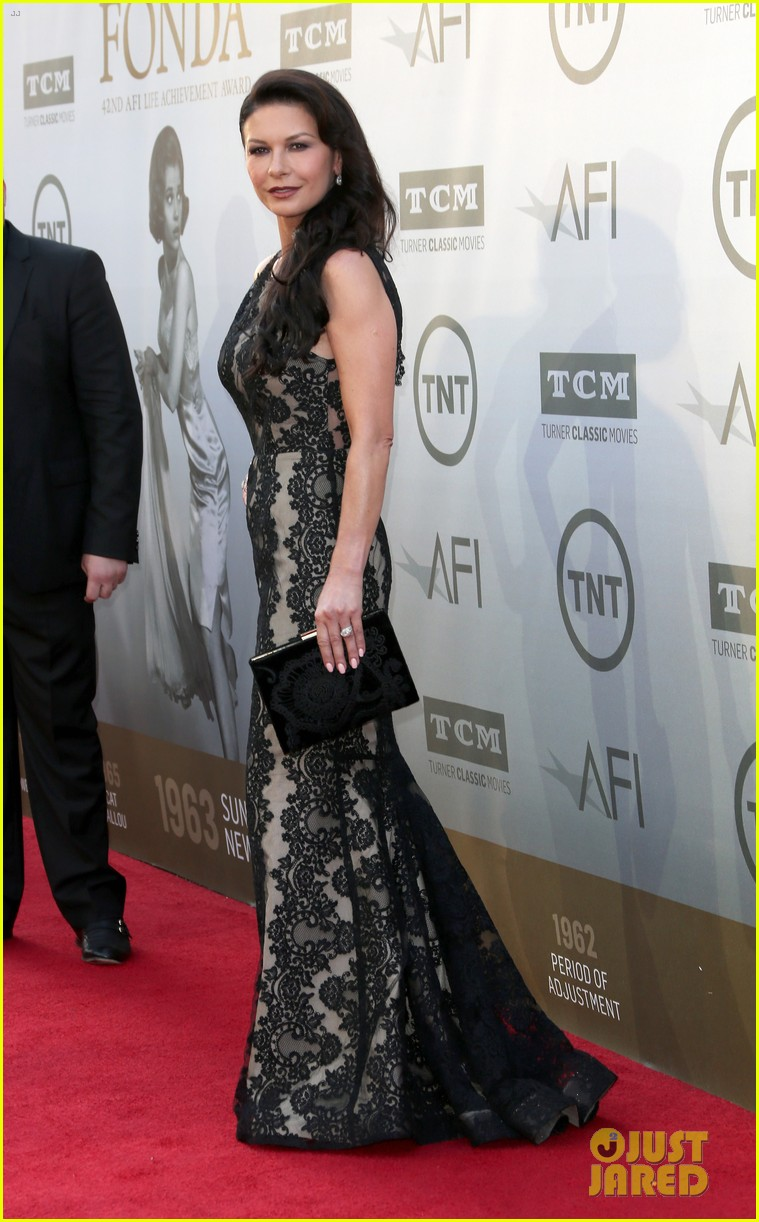 catherine zeta jones michael douglas jane fonda afi event 14
