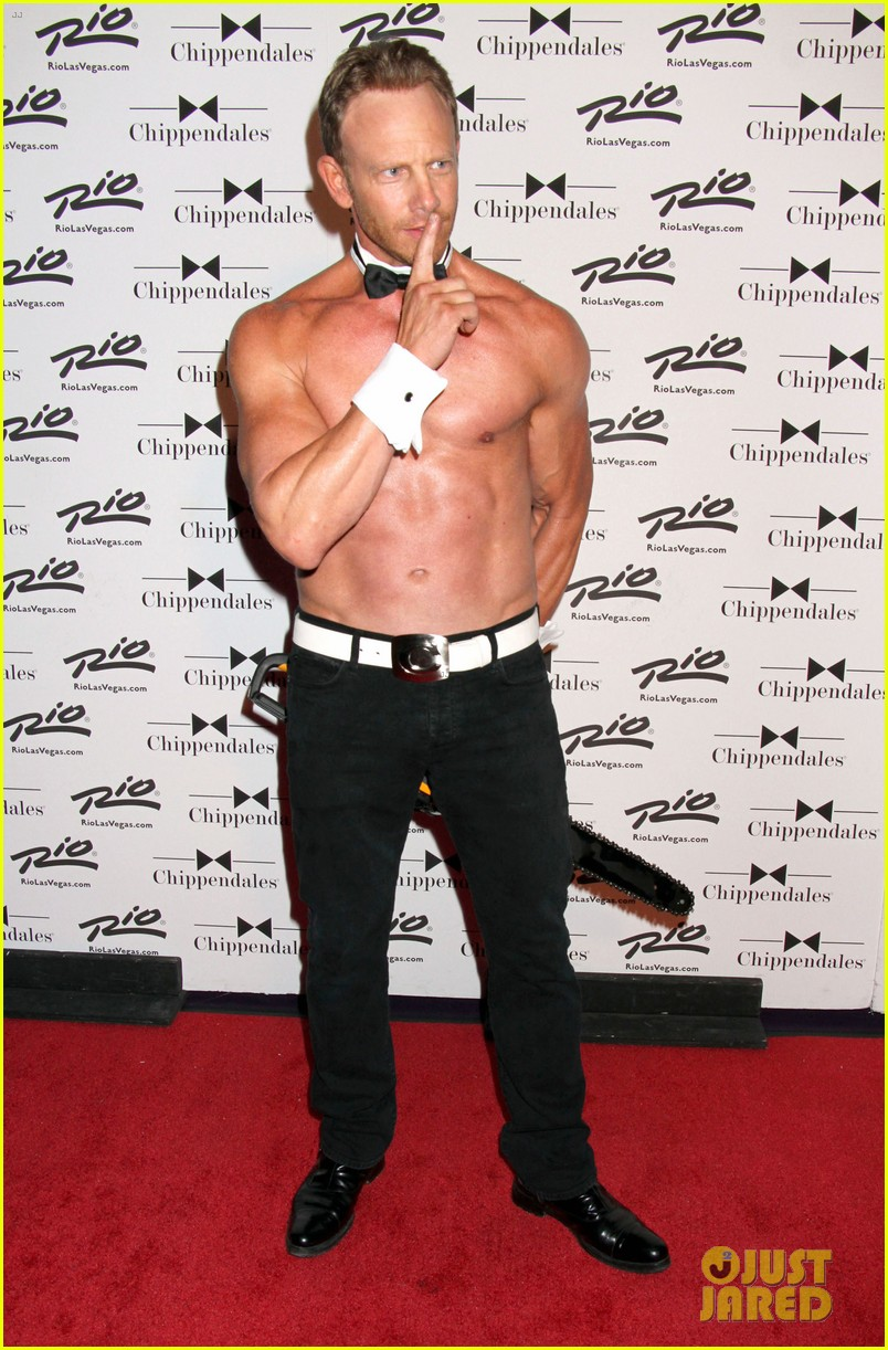 ian ziering shirtless chippendales 173136411