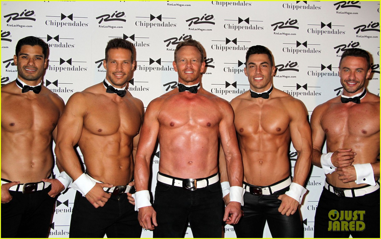 ian ziering shirtless chippendales 203136414