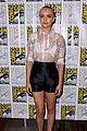 olivia cooke shaves head bates motel sdcc 15