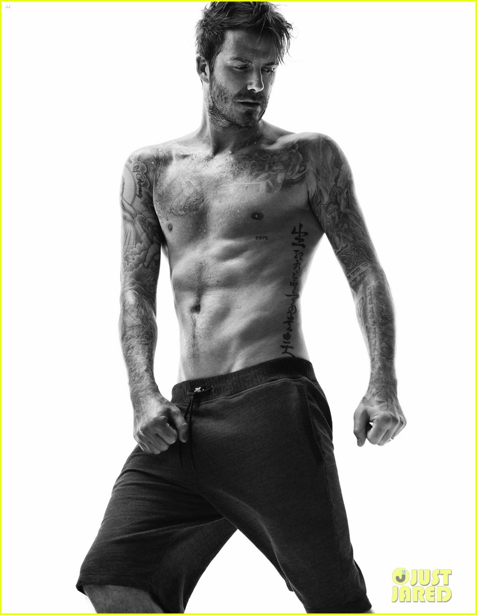 david beckhams hot shirtless body is on display for new hm bodywear 023148198