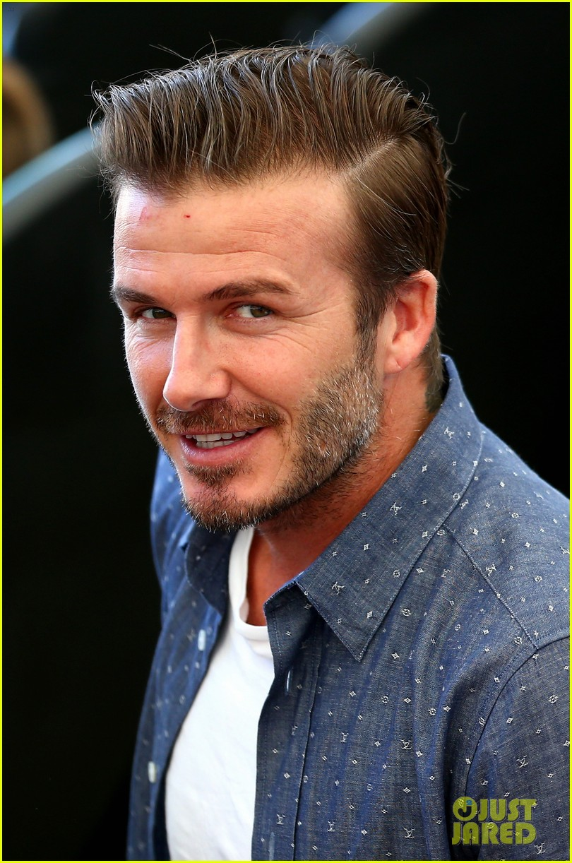 David beckham poses for adorable picture with all his sons - David beckham ...