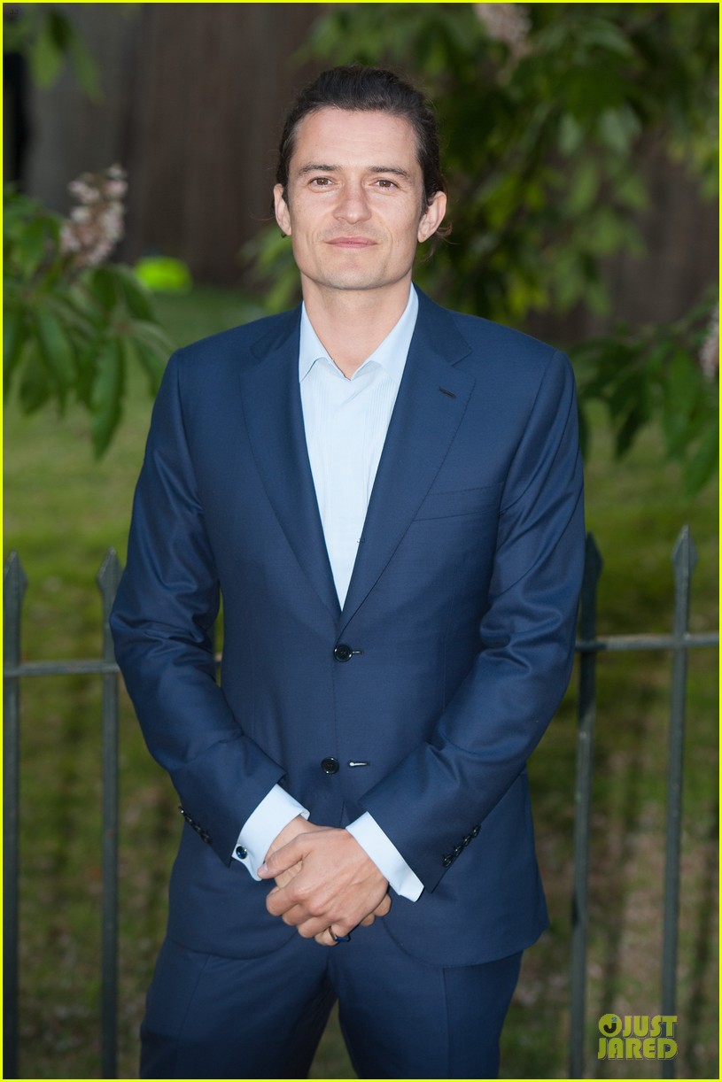 orlando bloom pharrell williams serpentine gallery party 02