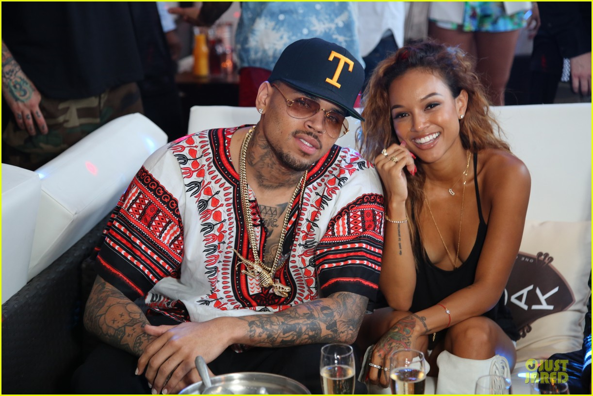 chris brown karreuche tran celebrate july 4th together in malibu 023150088