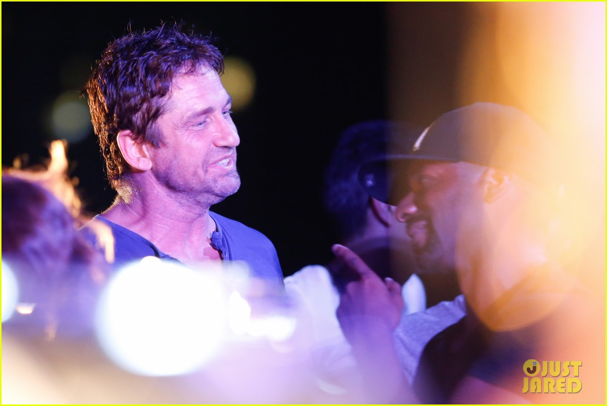 gerard butler taylor kitsch hang out in brazil 193151759