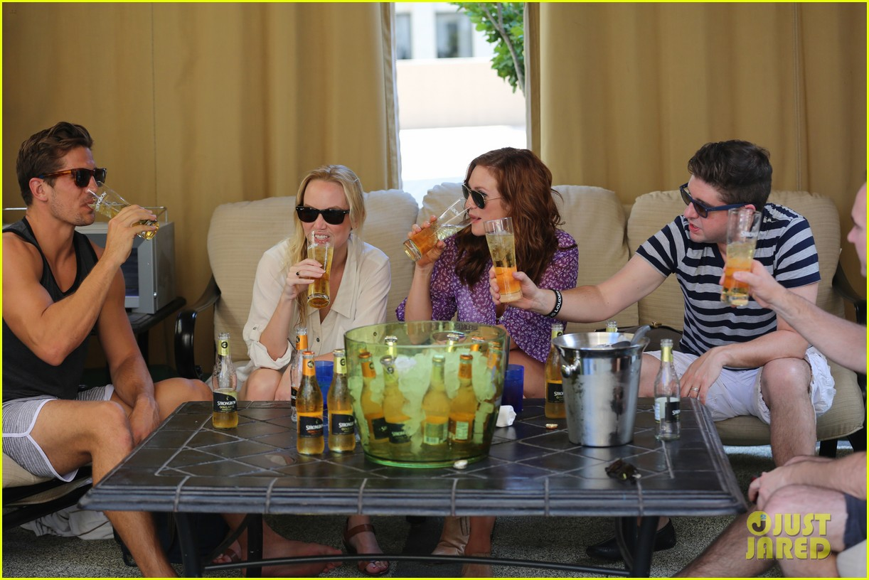 anna camp glamping brittany snow vegas 113152380