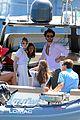 jessica chastain gian luca passi de preposulo boating in ischia 15