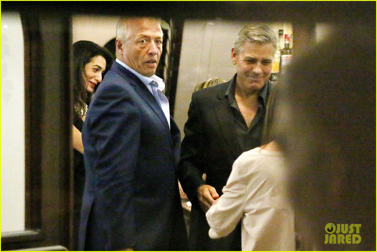 george clooney fiancee amal alamuddin make it family night 063148666
