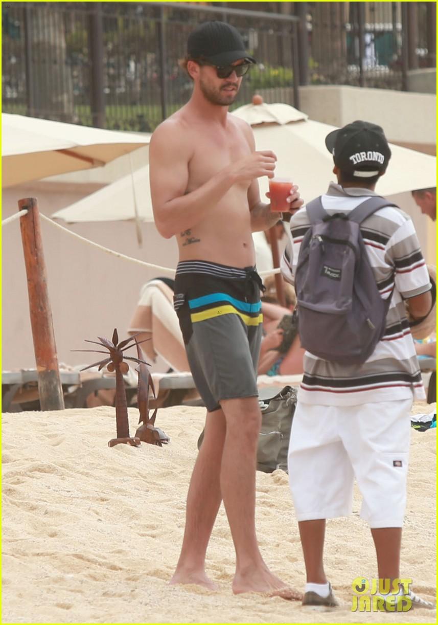 kaley cuoco covers bikini body with sheer wrap 063149964